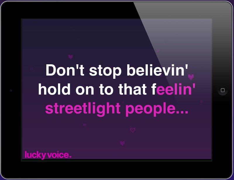 Lucky Voice Karaoke App
