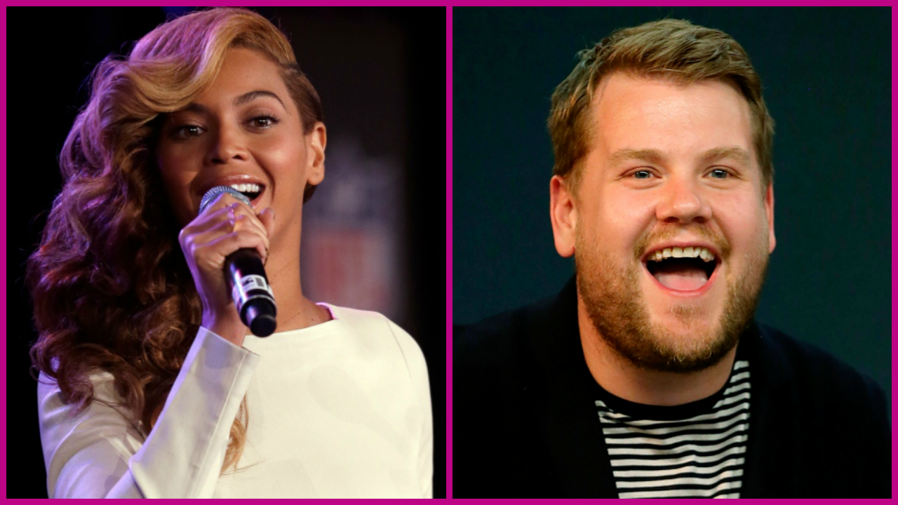 pictures James Corden Does a Hilarious Beyoncé in Lemonade' Parody