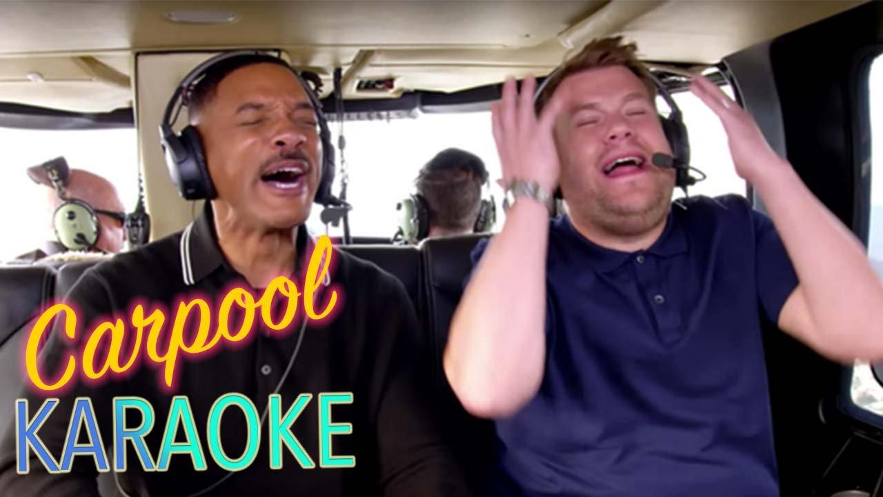 Watch Will Smith On Carpool Karaoke With James Corden Here