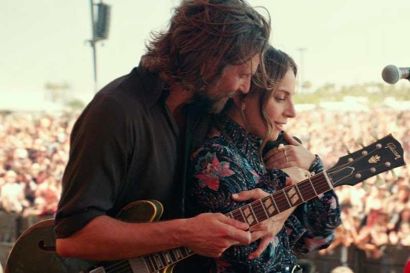 A Star Is Born Bradley Cooper and Lady Gaga