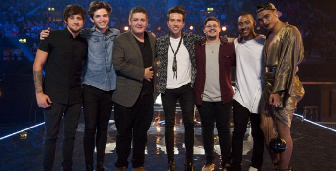 X Factor 6 Chair Challenge - Boys.