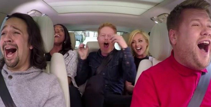 Broadway Carpool Karaoke with James Corden