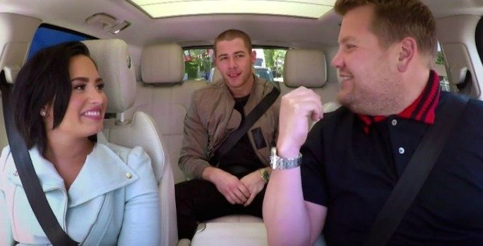 Demi Lovato's Carpool Karaoke and Nick Jonas