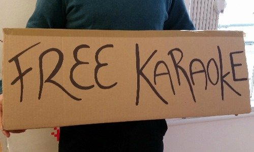 Free Karaoke Busking