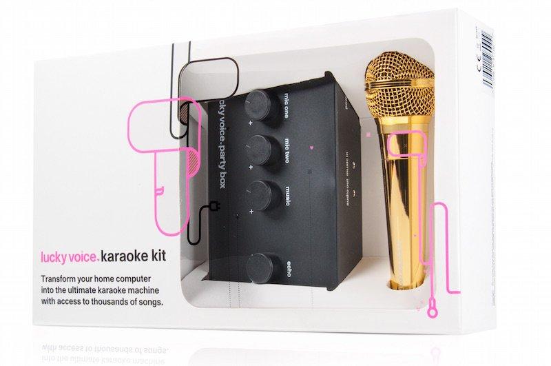 Lucky Voice Gold Karaoke Kits