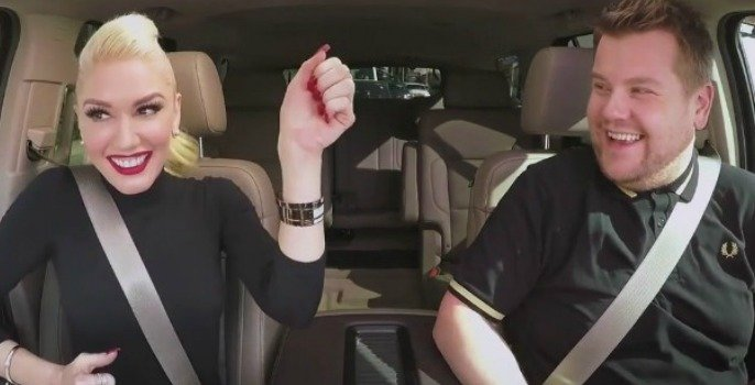Gwen Stefani's Carpool Karaoke with James Corden