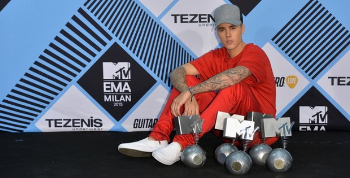 MTV EMAs 2015 Winner's List