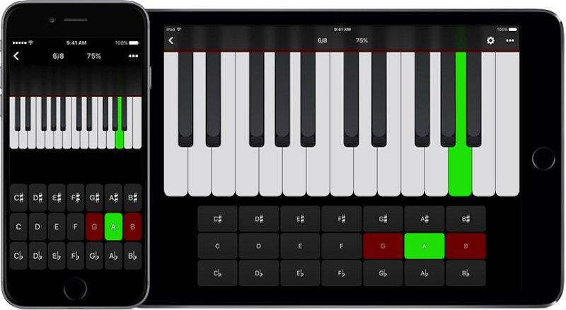 Tenuto Music Theory App