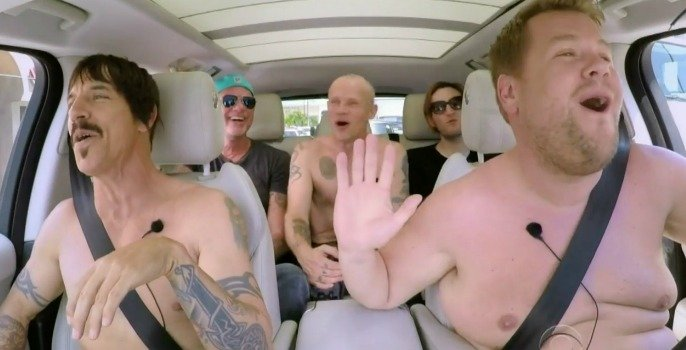 The Red Hot Chili Peppers' Carpool Karaoke