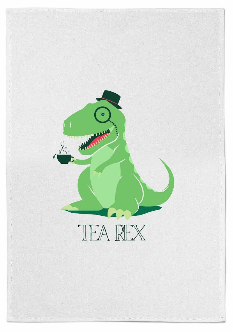 Tea Rex Tea Towel